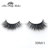 Beauty Salon Eyelash Premium Mink Fur Eyelashes Full Set Strip Privated Label 3d Mink Lashes With Custom Boxes