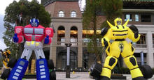 transformers giant inflatable character for sale