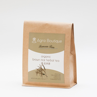 Organic Brown Rice Herbal Tea Green Made in Taiwan Family-Sharing Smooth Hyeonmicha