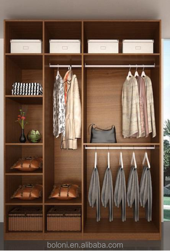 New model wooden wardrobe dressing table designs with cheap price