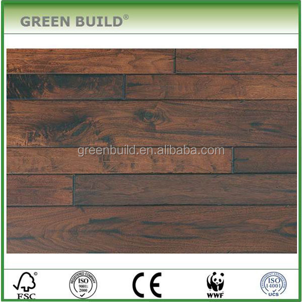 American Walnut <strong>Antique</strong> Random size Engineered Hardwood Flooring