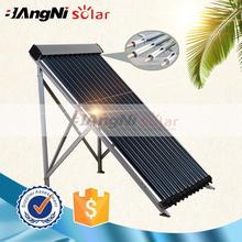 New design heat pipe hot air solar thermal collector system