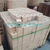 high density high temperature fire resistant burnt Refractories fire clay sleeve brick for molten steel ladle