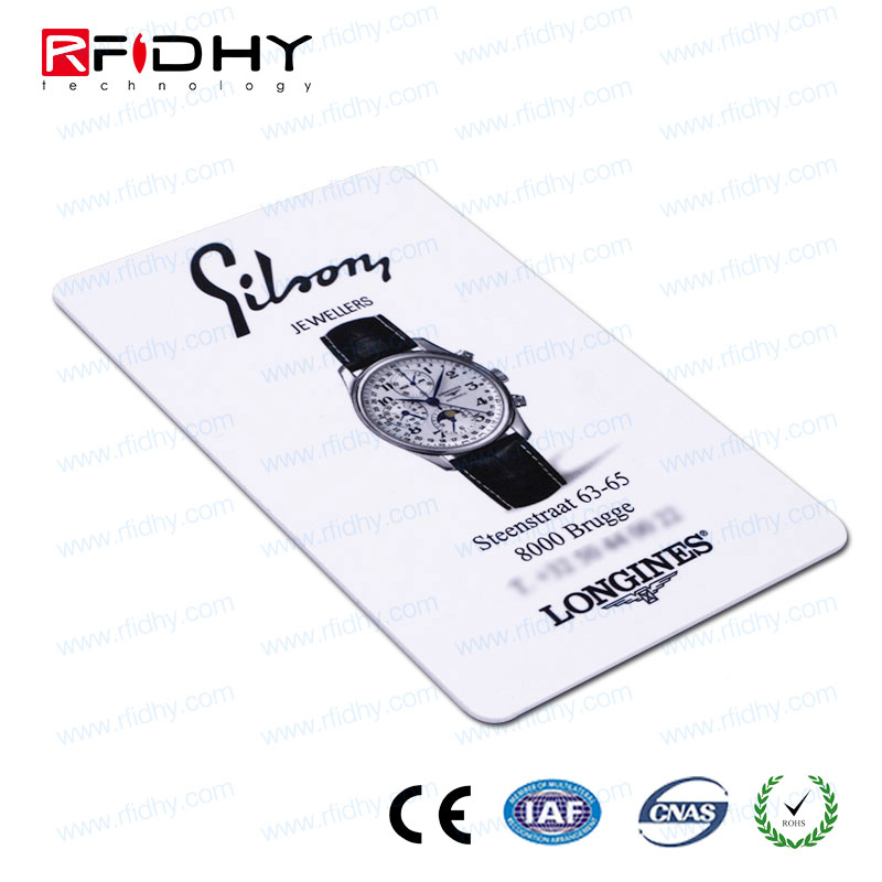 ISO 128 39 bar code printed business card, combined luggage key card, irregular motor service pvc card