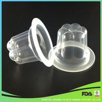 Mini Clear PP Disposable Plastic Cup