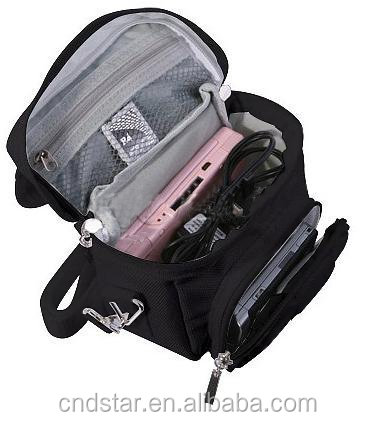 New Design Small Travel bag with Shoulder Strap Carry Handle, Belt Loop for DS / 3DS / DS Lite / 3DS XL / DSi - Black