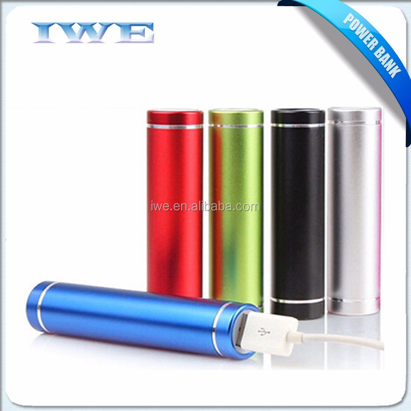 new arrival personalized universal power bank charger /portable power bank 2600 mah/ cell phone power bank