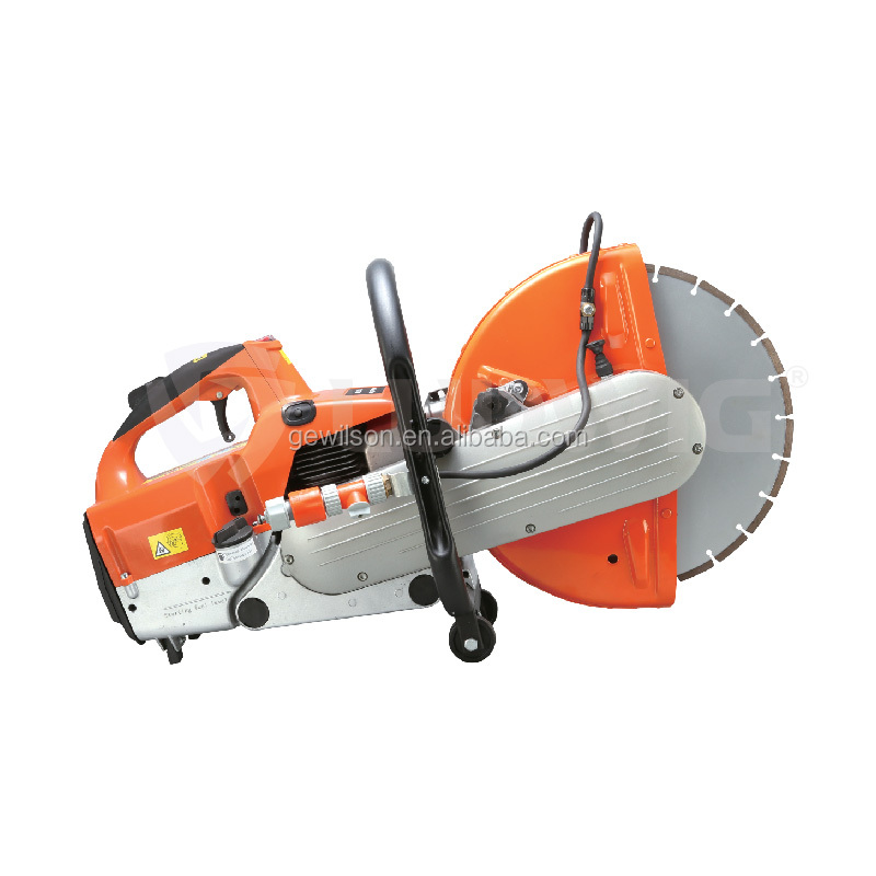 Balde diameter 350 mm portable handheld concrete cutter saw machine with adjustable handle