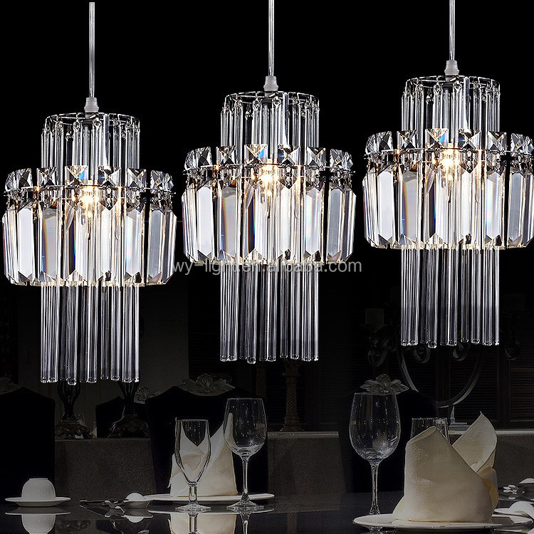 modern innovate glass chandelier