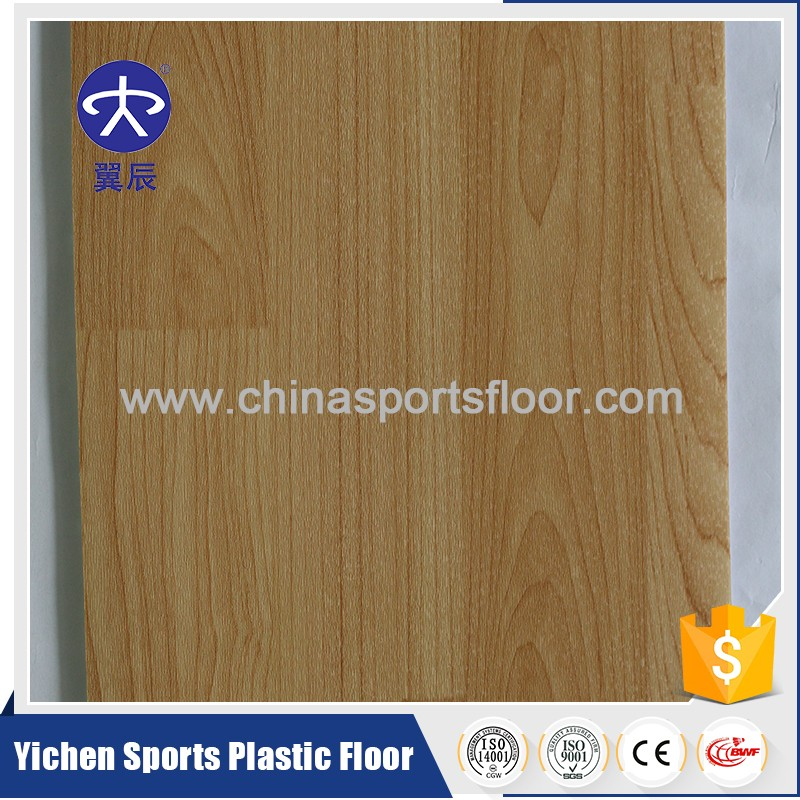 Basketball court/office/building used maple wood pattern pvc flooring