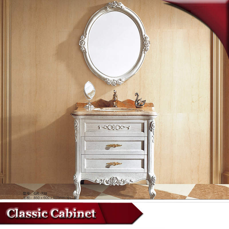 HS-G738 bathrom furniture/ vanities china australia/ vanity units for small bathrooms