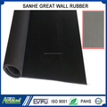 Anti skid rubber flooring sheet Fine Ribbed rubber mat