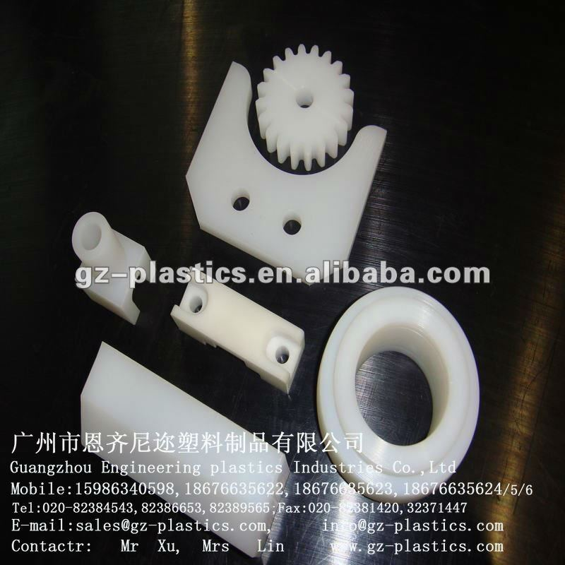 Factory price 100% raw material UHMW PE plastic parts custom made plastic parts
