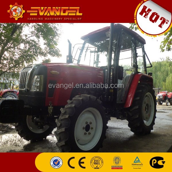 Lutong 4X4 mini faming tractor 404 with tractor air conditioner