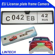 2014 Europe Cars Number plate rear camera citroen c4 2012