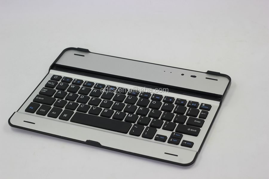 For iPad Ultra Slim Bluetooth Wireless Keyboard with Mouse Touch Pad For Windows Android iOS