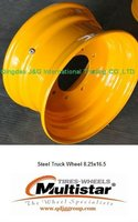 Tubeless Steel Truck Wheel 8.25x16.5