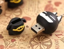 3D PVC USB flash memory