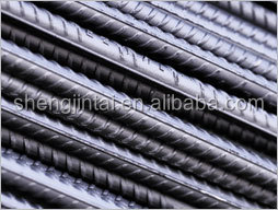 Steel black concrete thread screw reinforced iron bar for construction/ rebar