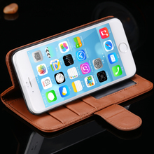 High Quality Real Genuine Leather Magnetic Flip Mobile Phone Case For Sony Xperia Z L36H C6602 C6603 Back Cover