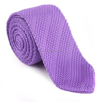 Wholesale Silk Pointed End Knitted Tie