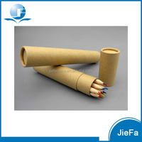 Promotional Eco-friendly High Quality Nature wooden Color Pencil