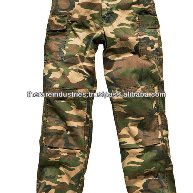 COMBAT WORK TROUSERS CAMOUFLAGE