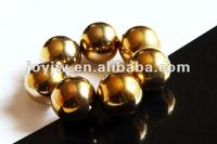 20mm Gold Magnetic Beads, No Nickel No Lead