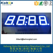 4 digits 7 segment 0.2 inch led display for taxi