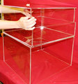 2011402103 Lucite Wedding Centerpiece,Acrylic Cake Decor Stand Table