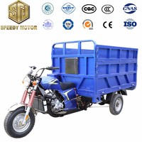 2017 strong power most attention 200CC gasoline cargo tricycle