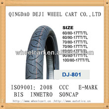 motorcycle tubeless tire 80/90-17 ,high quality