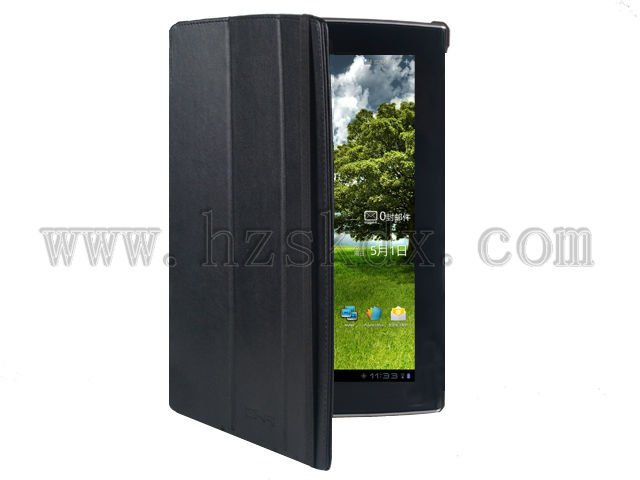 SiKai 2012 New Model 360 rotating leather case for ASUS Eee pad SLIDER SL101