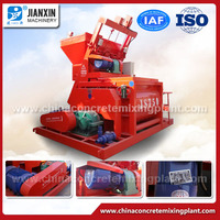 top factory high quality electric loading js750 self-loading concrete mixer