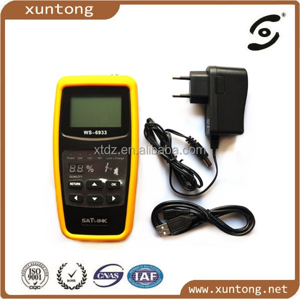 2016 Wholesale Satlink WS-6933 DVB-S2 digital finder Satlink sat finder meter hd satellite finder