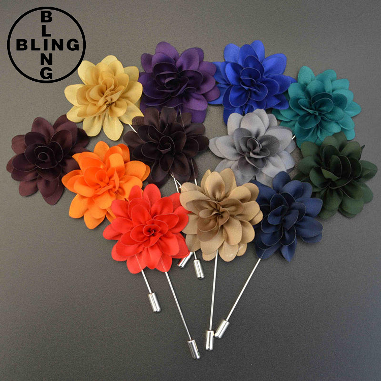 >>>Trendy Daisy Flower Lapel Pins Brooches for Women High Quality Broches Lapel Pin For Wedding Handmade Suits Shirt Men Brooch/