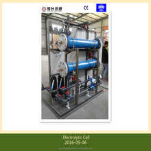 seawater electro-chlorination hypochlorite/active chlorine producing and dosing system