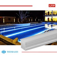 fiber optic underwater solar par 56 led swimming pool lights 54w,pool light