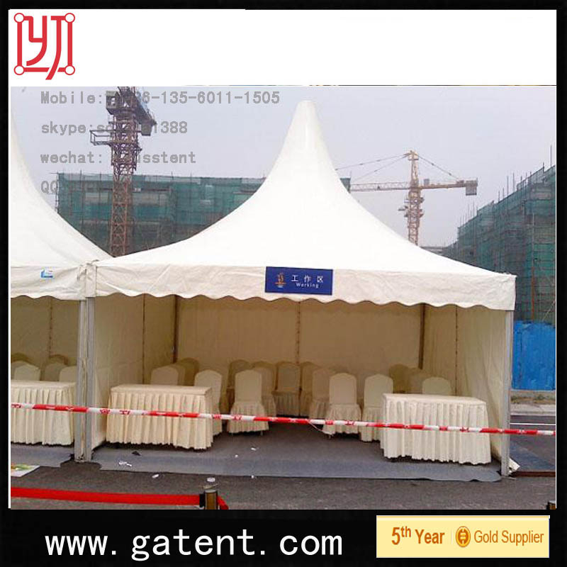 tents with air conditioner opening for sale as Canton Fair tents