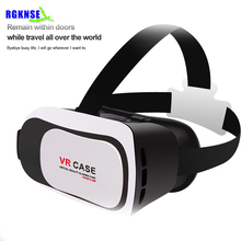 hot rgknse supply 3d vr glasses virtual reality home theater vr case 3.0 for 3.5inch -6inch mobile