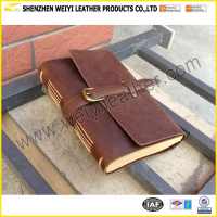 Vintage Style Leather Organizer Agenda Antique Leather Journal Diary Notebook Handmade