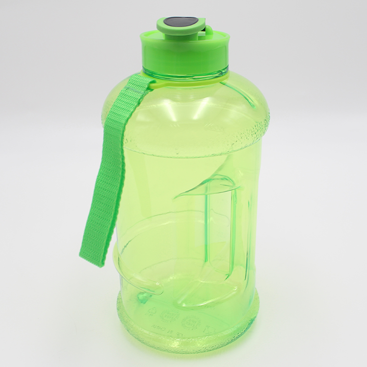Chinese supplier PETG plastic 1.3L gym water bottle private label
