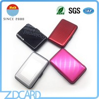 RFID Blocking Aluminum Business ID Credit