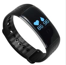 2016 innovative products blood oxygen smart bracelet heart rate monitor smart band pedometer wristband for eldly health care