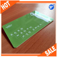 credit card size hard plastic business cards