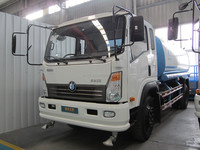 China sinotruck CDW 6 wheels Small Volume water tank truck with low price