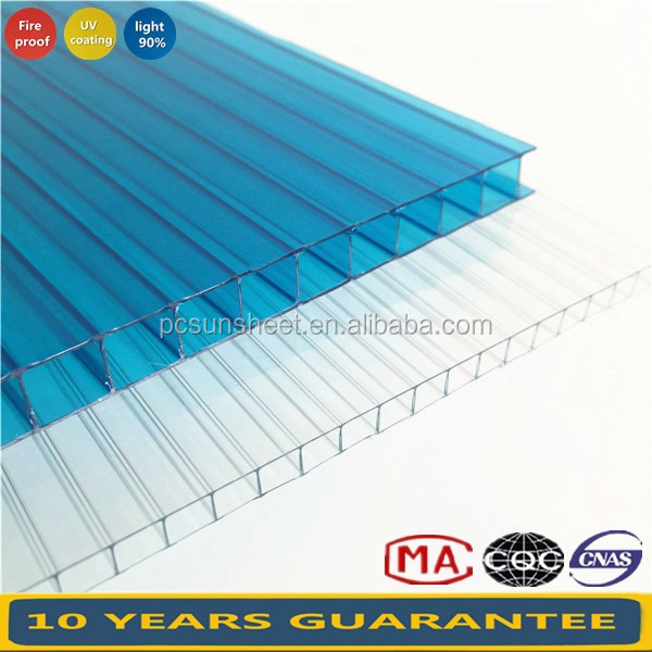 PE film packed Thin Polycarbonate sheet, Double layers Cork sheet, Colored ohp sheets