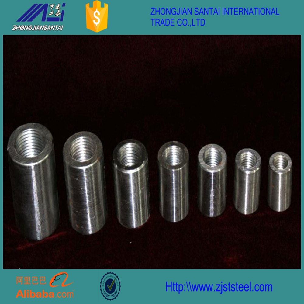 Construction Building Material Tools With 25mm Carbon Steel Rebar Couplers