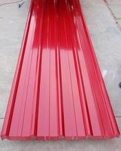 Enthusiastic Red Color of Decorative Metal Roof Tile /Roof Tiles Press Steel