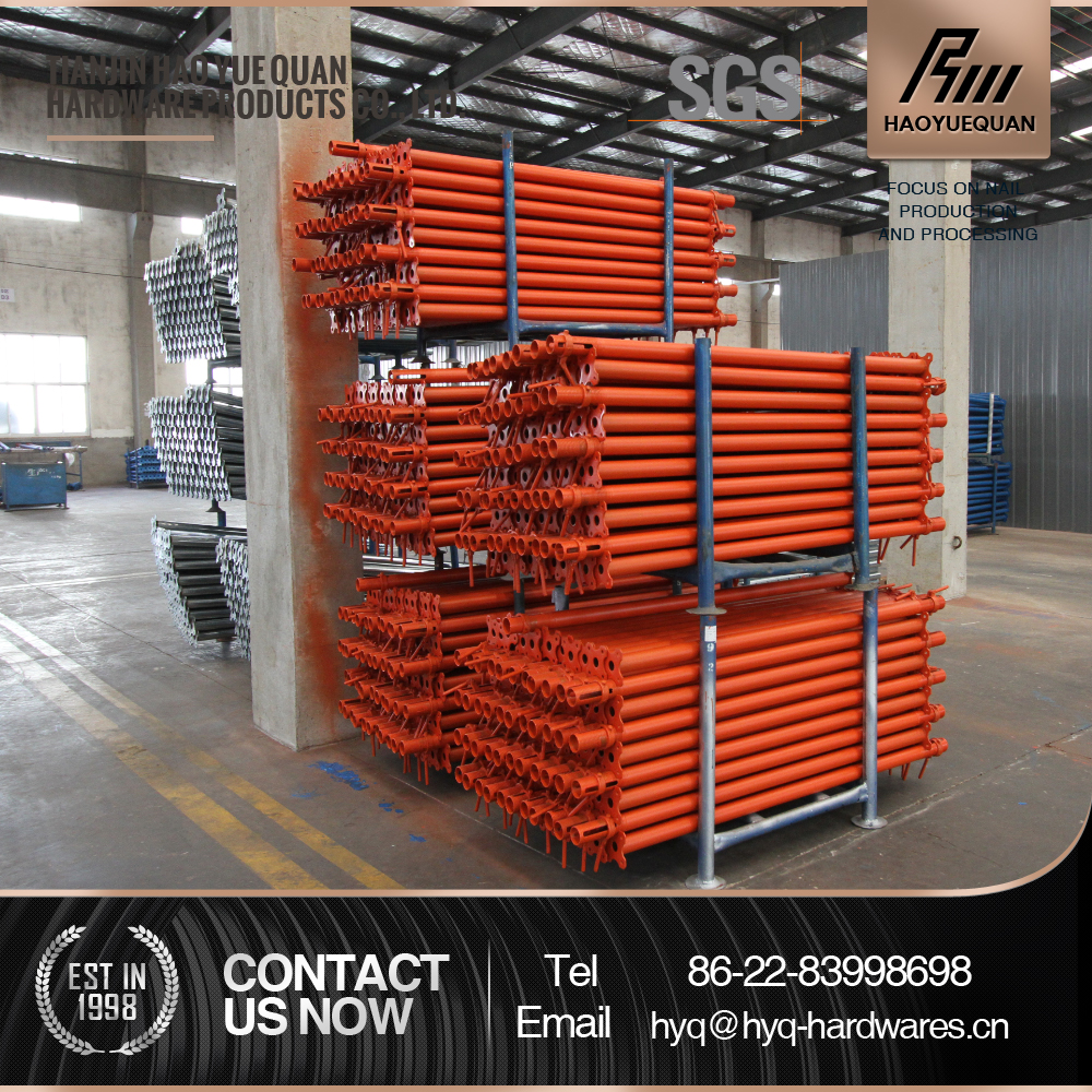 scaffolding system support for concrete formwork